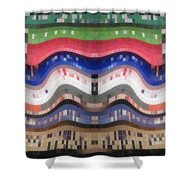 The Tile Smile Shower Curtain