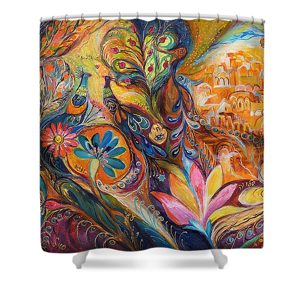 The Walls Of Jerusalem. The Original Can Be Purchased Directly From Www.elenakotliarker.com Shower Curtain