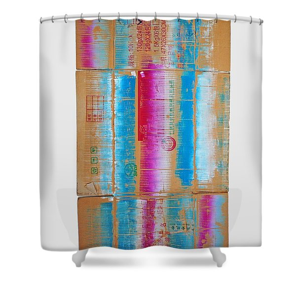 The Way We Live Now Shower Curtain