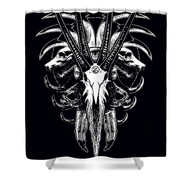 This Sin Shower Curtain