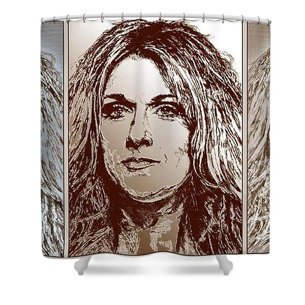 Three Interpretations Of Celine Dion Shower Curtain