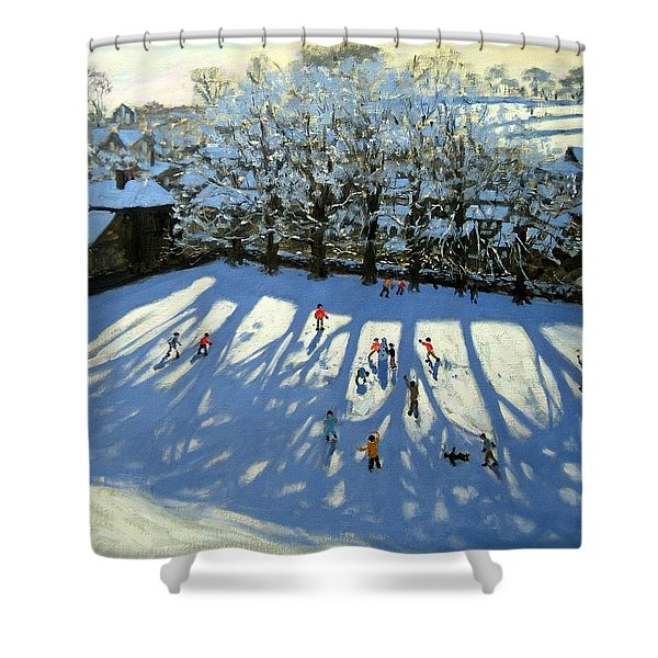 Tideswell Derbyshire Shower Curtain