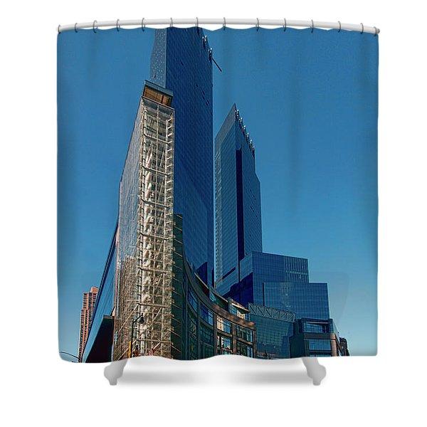 Time Warner Center Shower Curtain
