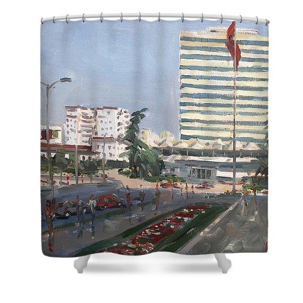 Tirana Shower Curtain