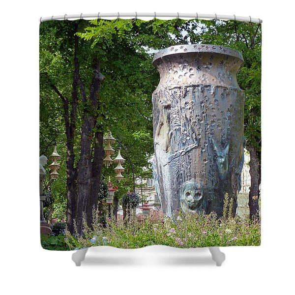 Tivoli Gardens Shower Curtain