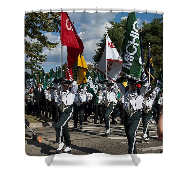To The Field Shower Curtain