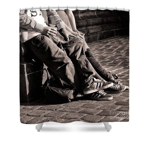 Togetherness Shower Curtain