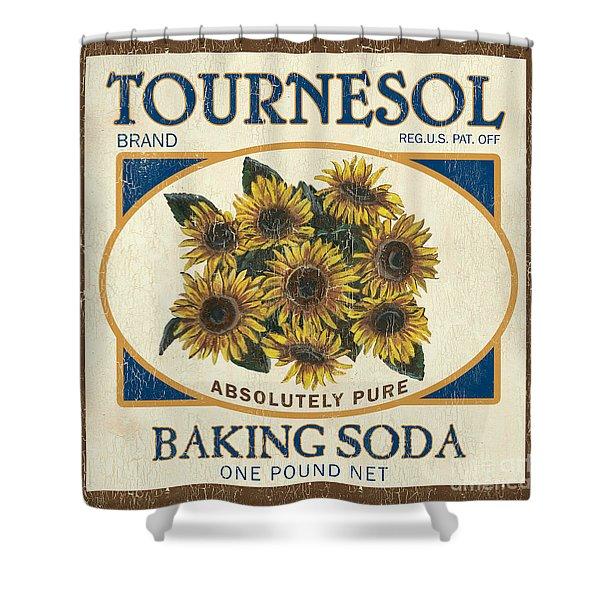 Tournesol Baking Soda Shower Curtain