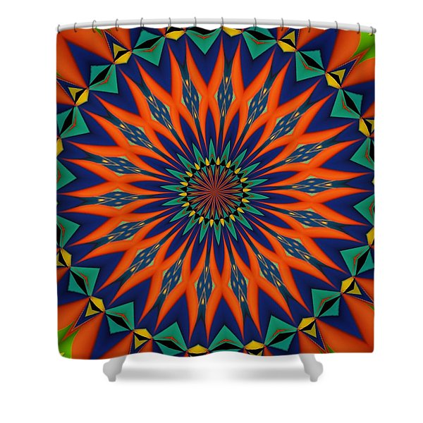 Tropical Punch Shower Curtain