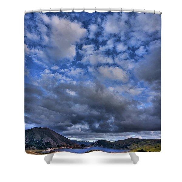 Twitchell Reservoir  Shower Curtain
