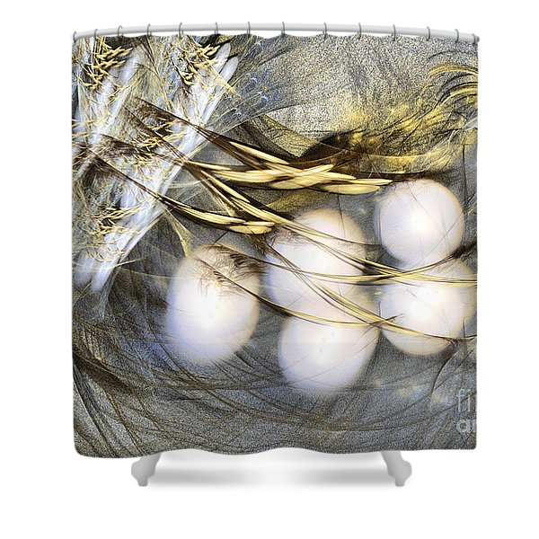 Ultima Thule - Abstract Art Shower Curtain