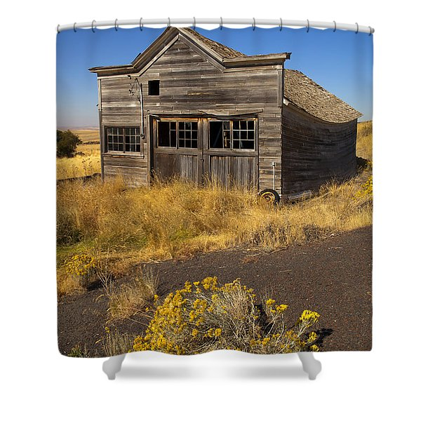 Under The Weight Of It All Shower Curtain