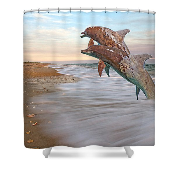 Unknown Thought Shower Curtain
