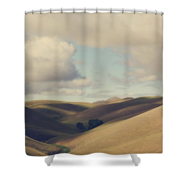 Up Above The Darkness Shower Curtain