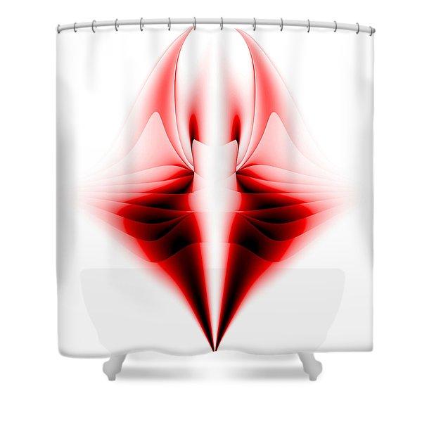 V Shower Curtain