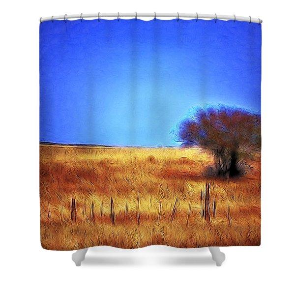 Valley San Carlos Arizona Shower Curtain
