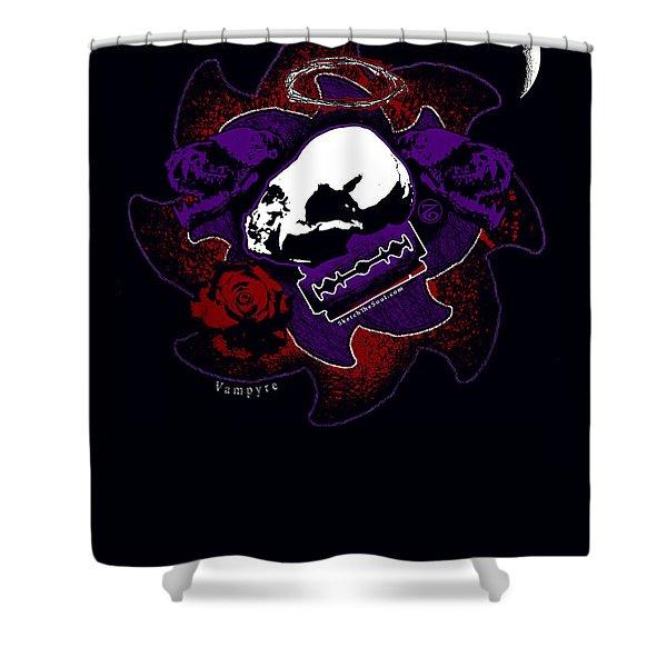 Vampyre  Shower Curtain