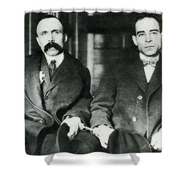Vanzetti And Sacco Shower Curtain