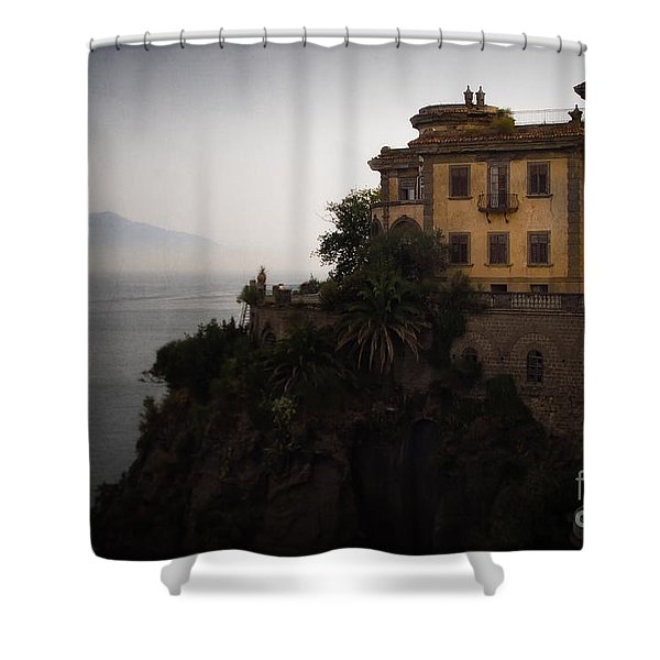 Vesuvius From Sorrento Shower Curtain