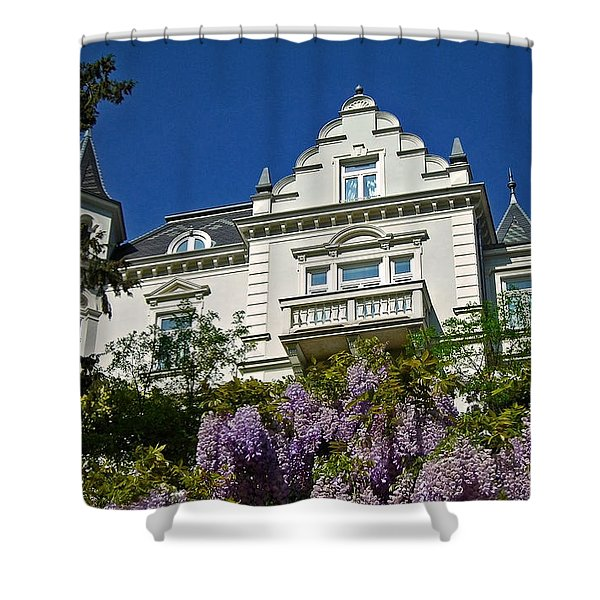 Via Giardini ... Shower Curtain