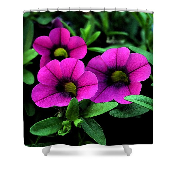 Vibrant Pink Shower Curtain