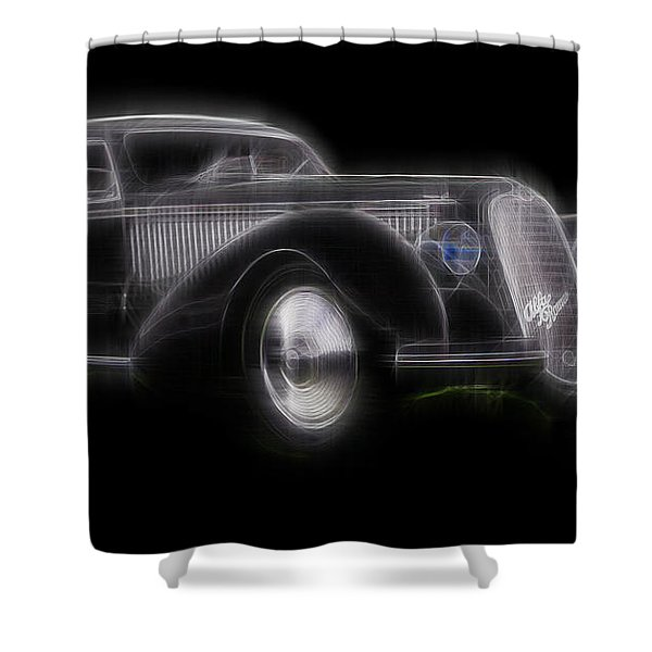 Vintage Alfa Shower Curtain