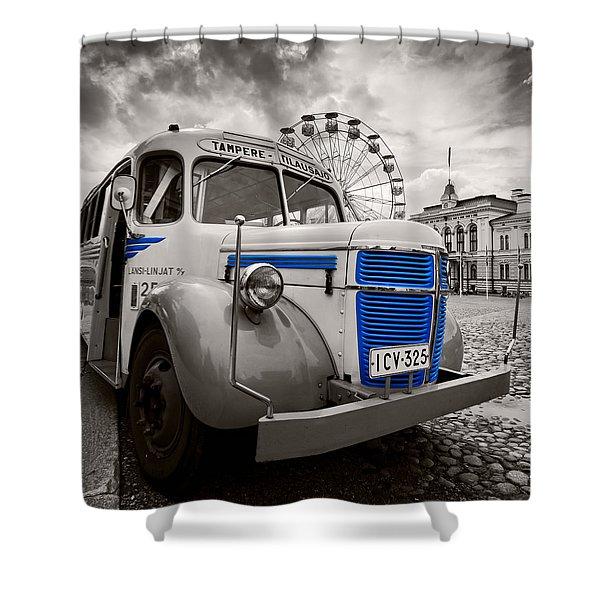Volvo Shower Curtain