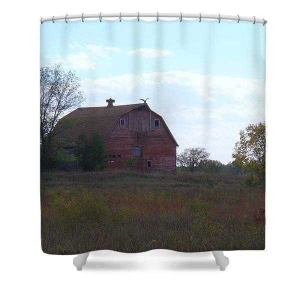 Vulture Barn Shower Curtain
