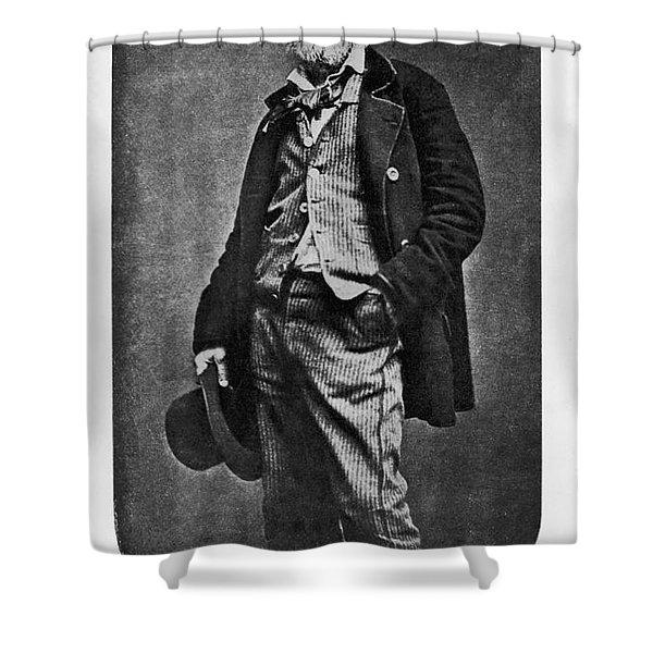 Walt Whitman, American Poet Shower Curtain
