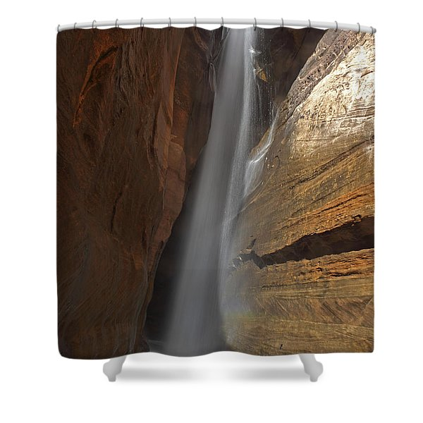 Water Canyon Shower Curtain