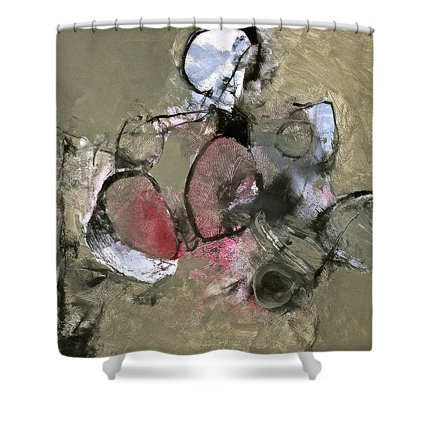 Shower Curtain featuring the painting Welterweight  by Cliff Spohn