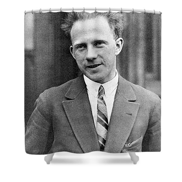 Werner Heisenberg, German Theoretical Shower Curtain