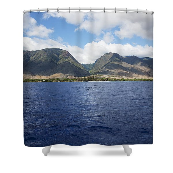 West Maui Mountains Shower Curtain