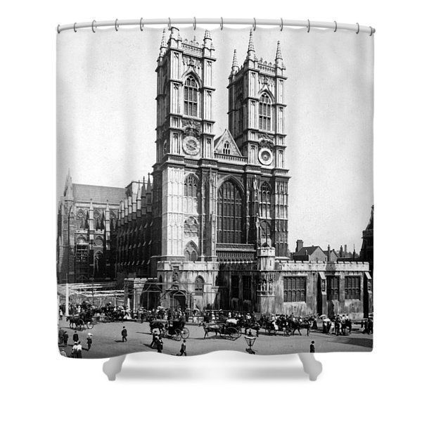 Westminster Abbey - London England - C 1909 Shower Curtain
