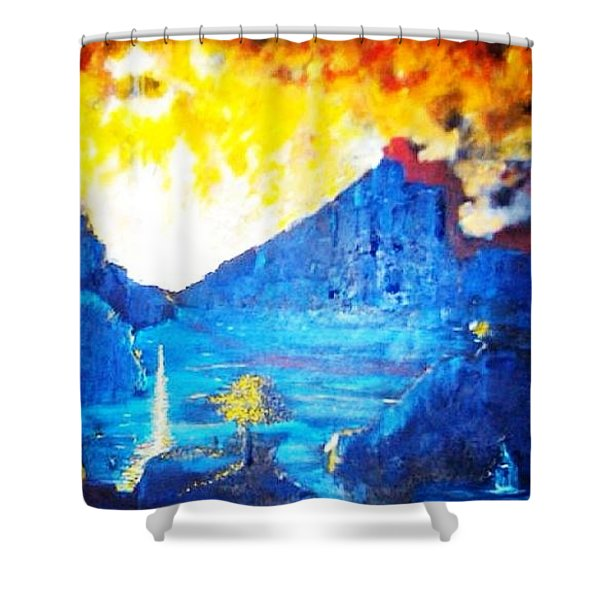 What Dreams May Come  Shower Curtain