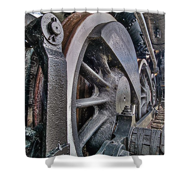 Wheels Of Steel Shower Curtain