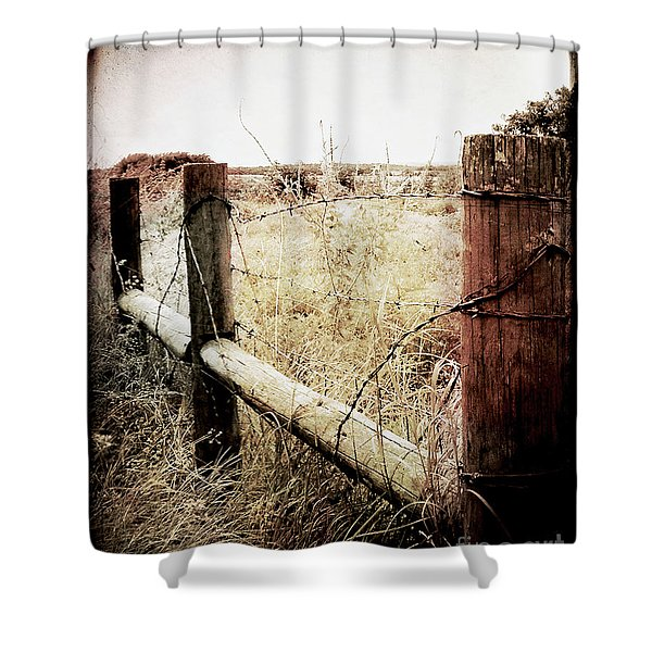 When Time Fades Shower Curtain