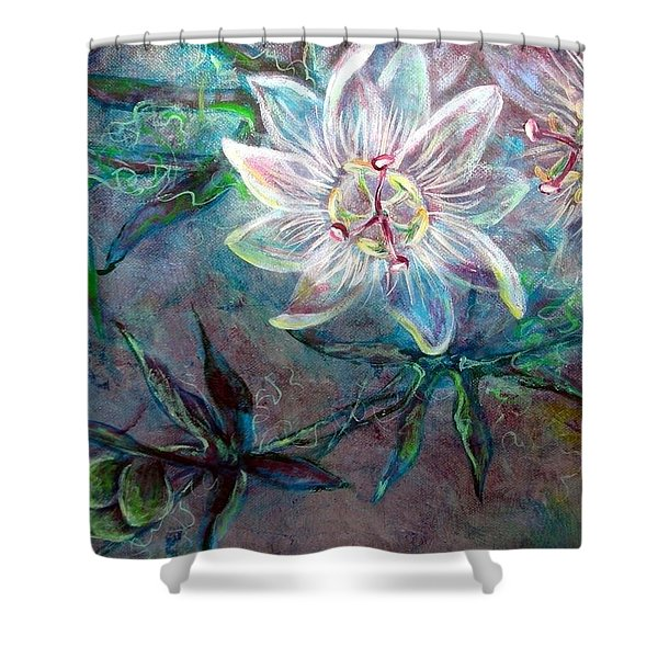 White Passion Shower Curtain