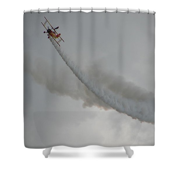 Wing Walker Shower Curtain