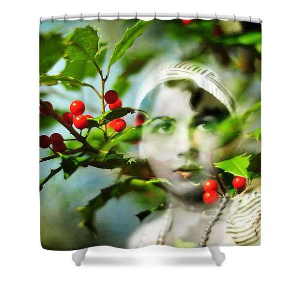 Winter Fancies Shower Curtain