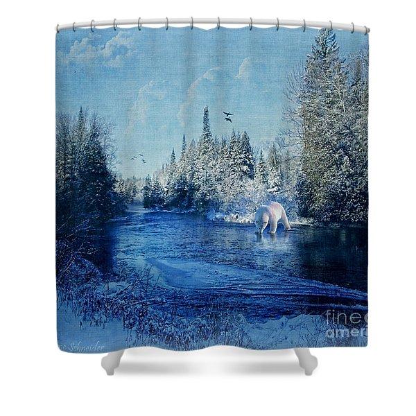 Winter Paradise Shower Curtain