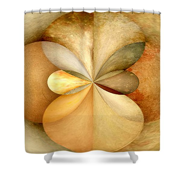 Wood Study 02 Shower Curtain