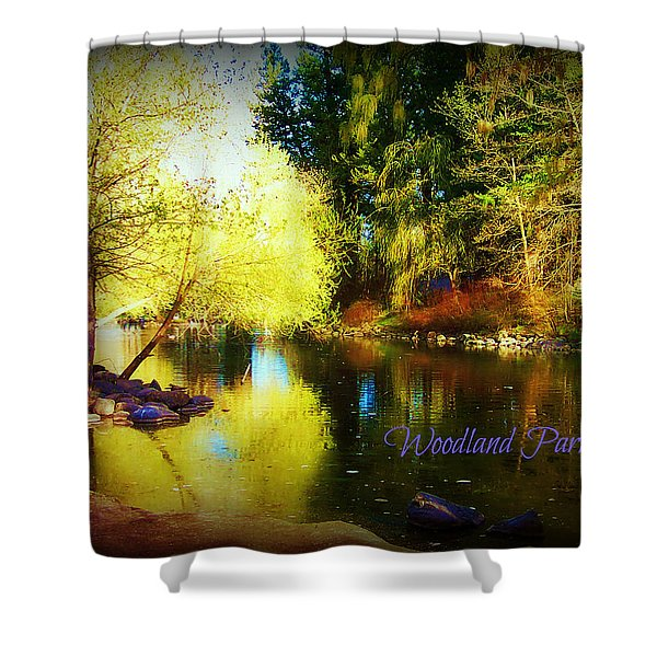 Woodland Park Shower Curtain