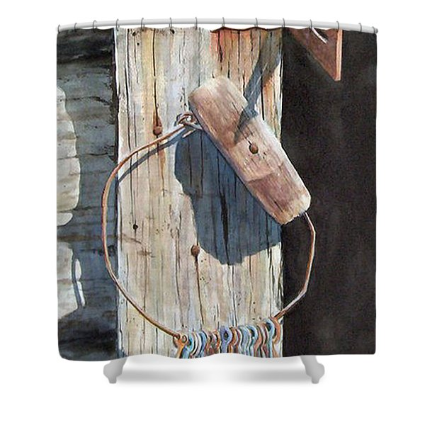 Wrental Property Sold Prints Available Shower Curtain