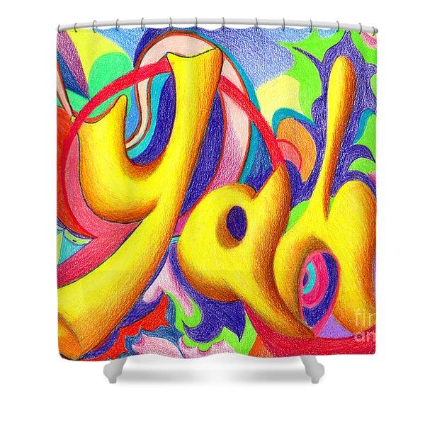 YAH Shower Curtain