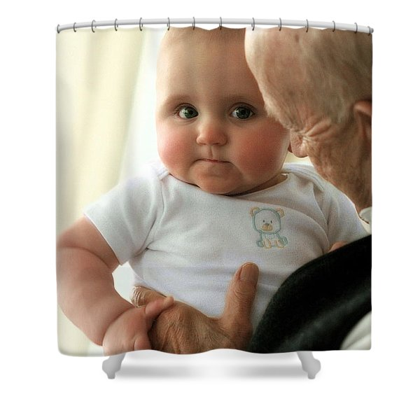 Young And Old Shower Curtain