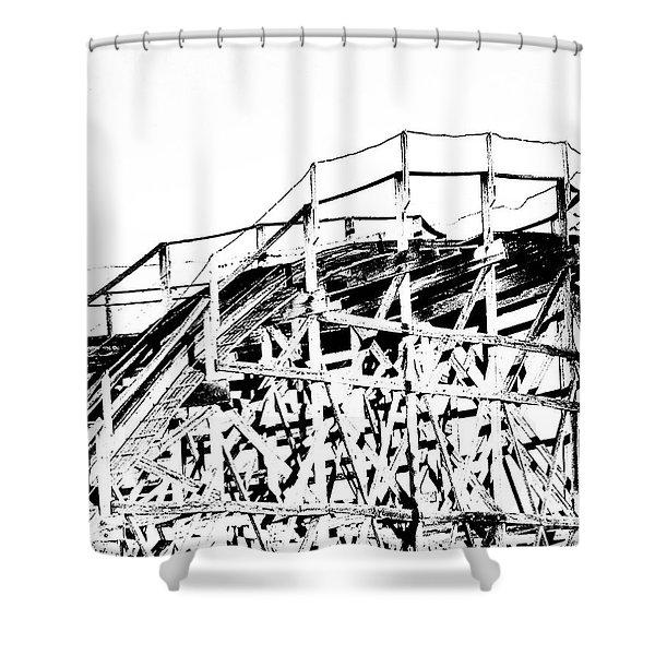 Zippin Pippin Shower Curtain