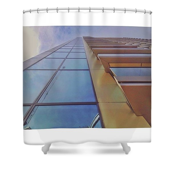 • Another Tower In The Heat Of Summer Shower Curtain