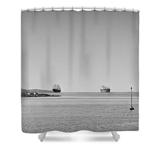 Bay  #2292 Shower Curtain