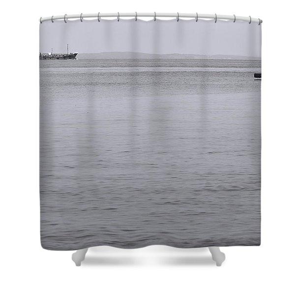 Bay  Shower Curtain